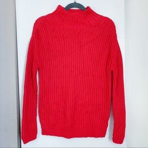 Gap Red Turtleneck Sweater
